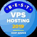 Được trao cho các công ty thuộc top 10 những nhà cung cấp dịch vụ lưu trữ VPS
