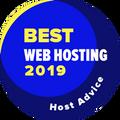 Được trao cho các công ty thuộc top 10 những nhà cung cấp dịch vụ lưu trữ web