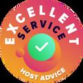 """chúng tôi dành thời gian để kiềm tra các dịch vụ hỗ trợ khách hàng của mỗi công ty dịch vụ.  """"vòng đai xuất sắc"""" sẽ được trao cho các công ty hosting đáp ứng được tiêu chuẩn khắc khe về dịch vụ khách hàng của HostAdvice đồng nghĩa là dịch vụ đó hiệu quả, nhanh chóng, sâu sắc và quan trọng nhất là hữu dụng."""