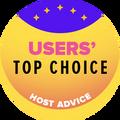 Được trao cho các công ty thuộc top 10 những nhà cung cấp dịch vụ được người dùng đánh giá cao nhất